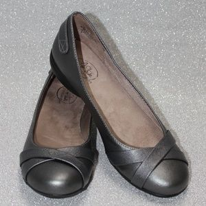 Life Stride Simply Comfort Silver/Grey Flats
